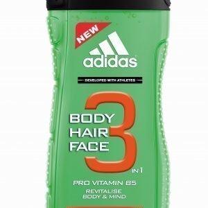 Adidas Active Start 3in1 Suihkugeeli 250 Ml