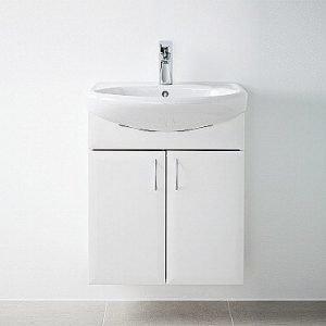 Alakaappi IDO Renova 93414 535x620x270 mm valkoinen sileä