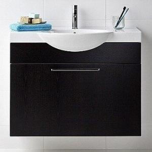 Alakaappi IDO Select Medium 594x650x370 mm laatikolla musta saarni