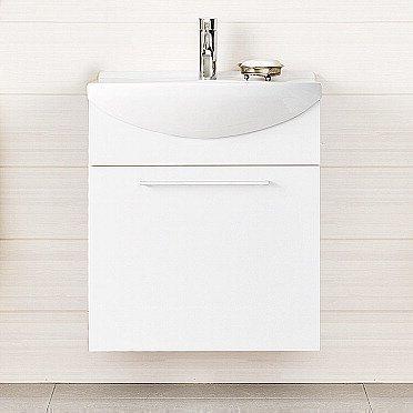 Alakaappi IDO Select Medium 594x650x370 mm laatikolla valkoinen korkeakiilto