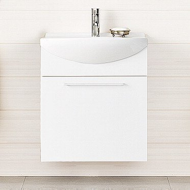 Alakaappi IDO Select Medium 594x650x370 mm laatikolla valkoinen sileä