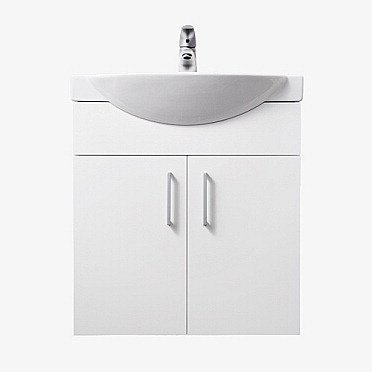 Alakaappi IDO Select Small 594x620x320 mm ovilla valkoinen korkeakiilto