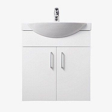 Alakaappi IDO Select Small 594x620x320 mm ovilla valkoinen sileä