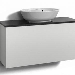 Alaosa Forma 100x35 + taso + pesuallas 1 laatikko valkoinen