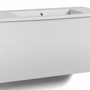 Alaosa Forma 100x45 + pesuallas 1 laatikko valkoinen