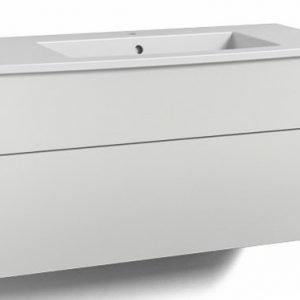 Alaosa Forma 100x45 + pesuallas 2 laatikkoa valkoinen