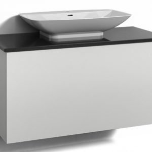 Alaosa Forma 100x45 + taso + pesuallas 1 laatikko valkoinen
