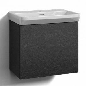 Alaosa Forma 60x35 + pesuallas 1 laatikko musta tammi