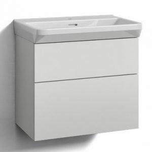 Alaosa Forma 60x35 + pesuallas 2 laatikkoa valkoinen