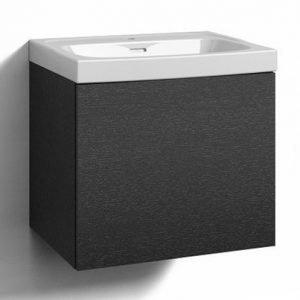 Alaosa Forma 60x45 + pesuallas 1 laatikko musta tammi