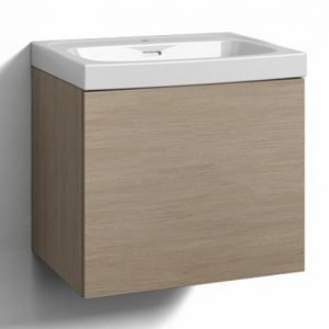 Alaosa Forma 60x45 + pesuallas 1 laatikko vaalea tammi