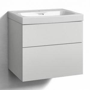 Alaosa Forma 60x45 + pesuallas 2 laatikkoa valkoinen