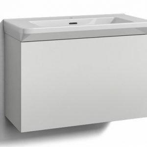 Alaosa Forma 80x35 + Fjord-pesuallas 1 laatikko valkoinen