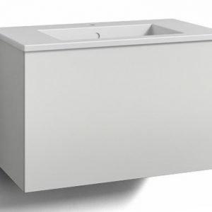 Alaosa Forma 80x45 + pesuallas 1 laatikko valkoinen