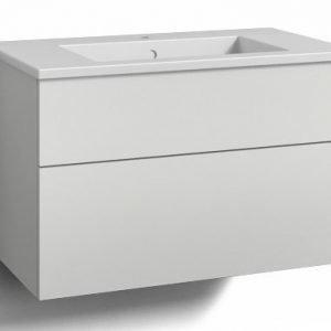 Alaosa Forma 80x45 + pesuallas 2 laatikkoa valkoinen