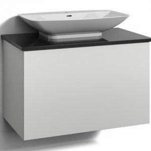 Alaosa Forma 80x45 + taso + pesuallas 1 laatikko valkoinen