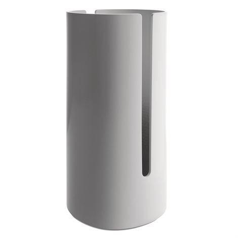 Alessi Birillo WC-paperiteline Valkoinen