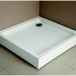 Allas Breve suihkunurkkaukselle 90x90x14 cm valkoinen