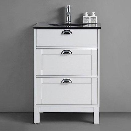 Allaskaappi Bathlife Lycka 600x480 mm valkoinen