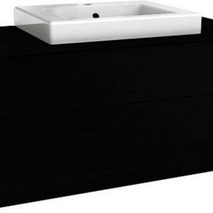 Allaskaappi Gustavsberg Artic 48100 Black Oak 1000x495x460 mm ilman allasta