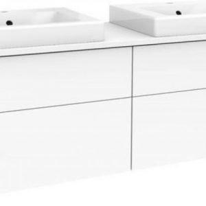 Allaskaappi Gustavsberg Artic 48150 Matta White 1500x495x460 mm ilman allasta
