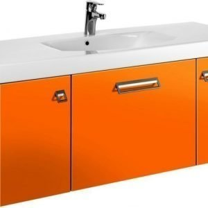 Allaskaappi Gustavsberg Logic 1812 Crazy Orange 1200x450x395 mm