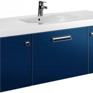 Allaskaappi Gustavsberg Logic 1812 Moody Blue 1200x450x395 mm