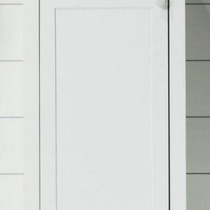 Allaskaappi ja pesuallas Noro Alice 420 valkoinen matta