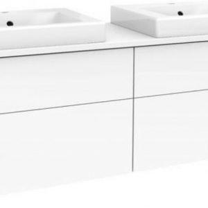 Allaskaappipaketti Gustavsberg Artic 48150 Matte White 1500x520x460 mm