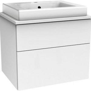 Allaskaappipaketti Gustavsberg Artic 4860 Matte White 600x520x460 mm