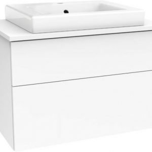 Allaskaappipaketti Gustavsberg Artic 4875 Matte White 750x520x460 mm