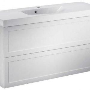 Allaskaappipaketti Gustavsberg Logic 1822 Classy White 1200x600x411 mm