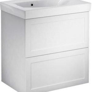 Allaskaappipaketti Gustavsberg Logic 1862 Classy White 600x600x411 mm