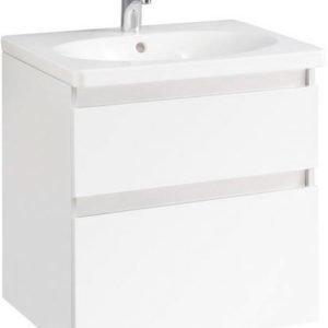 Allaskaappipaketti Gustavsberg Nautic A903 Valkoinen melamiini 600x610x475 mm