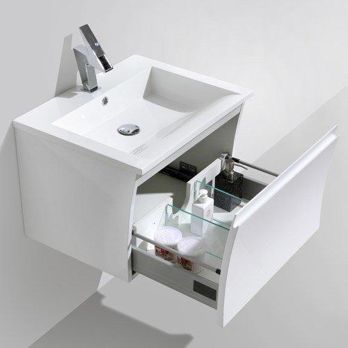 Allaskalustepaketti Bathlife Avställning 600 mm valkoinen