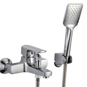 Amme- ja suihkuhana Kaleva 8751S käsisuihku kromi