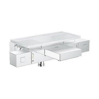 Amme- ja suihkutermostaatti Grohe Grohtherm Cube EasyReach hyllyllä kromi (34502000)