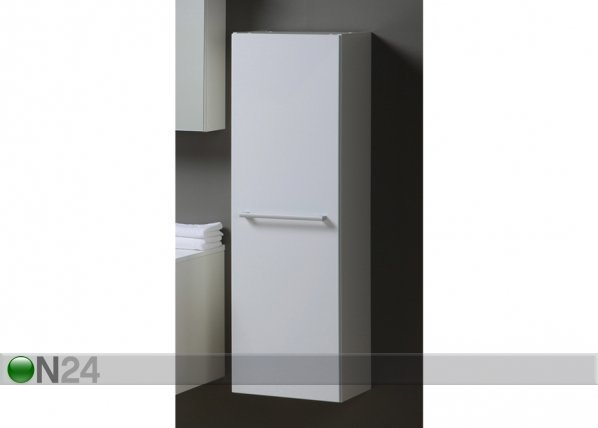 Kylpyhuoneen kaappi korkea