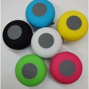 Bluetooth-kaiutin Tammiholma roiskevesisuojattu FM-radiolla keltainen