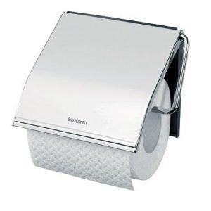 Brabantia WC-paperiteline teräs