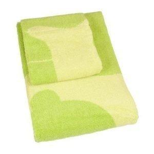 Brands Scandinavia Poni-kasvopyyhe 50 x 50 cm vihreä