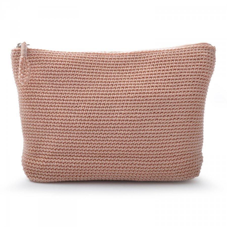 Ceannis Crochet Kylpylaukku Vaaleanpunainen