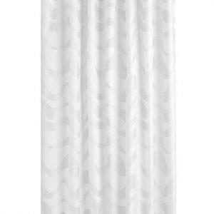 Cellbes Suihkuverho Valkoinen Vaaleanharmaa