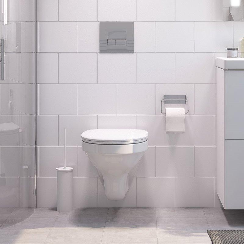 Cersanit Slim&Silent Seinä-WC Valkoinen
