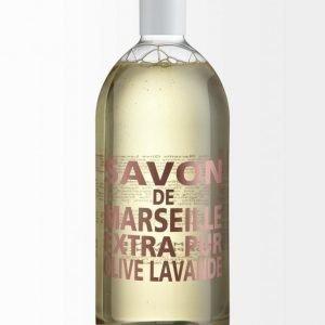 Compagnie De Provence Extra Pur Olive & Lavender Nestesaippua Täyttöpakkaus