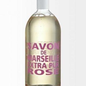 Compagnie De Provence Extra Pur Rose Nestesaippua Täyttöpakkaus 1 l