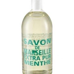 Compagnie De Provence Mint Tea Nestesaippua Täyttöpakkaus 1 l
