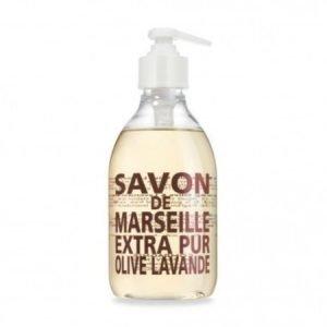 Compagnie De Provence Nestemäinen Marseille-saippua 300 ml Olive & Lavender