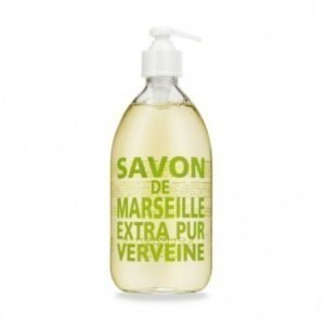 Compagnie De Provence Nestemäinen Marseille-saippua 500 ml Fresh Verbena