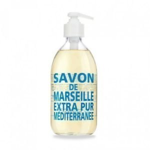 Compagnie De Provence Nestemäinen Marseille-saippua 500 ml Mediterranean Sea